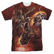 Anne Stokes Shirt Hell Rider Sublimation Shirt