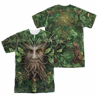 Anne Stokes Shirt Oak King Sublimation Shirt Front/Back Print