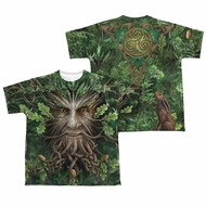 Anne Stokes Shirt Oak King Sublimation Youth Shirt