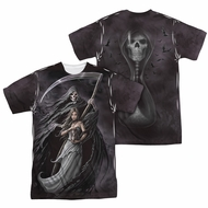 Anne Stokes Shirt The Reaper Sublimation Shirt Front/Back Print