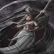 Anne Stokes The Reaper Sublimation Shirts