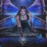 Anne Stokes Water Fairy Sublimation Shirts