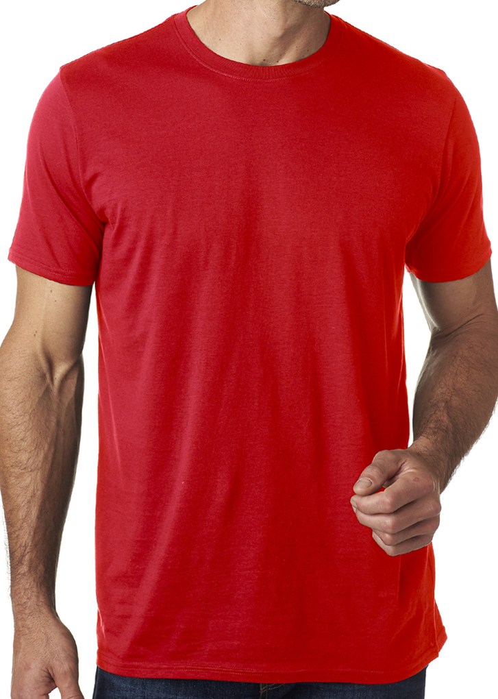 Anvil mens featherweight cotton tee shirt anvil clothing for Where are anvil shirts made