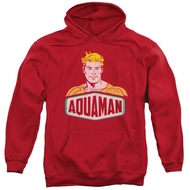 Aquaman Hoodie Swim Sign Red Sweatshirt Hoody