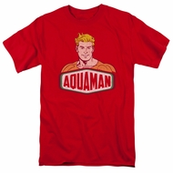 Aquaman Shirt Sign Red T-Shirt
