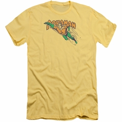 Aquaman Slim Fit Shirt Swim Through Banana T-Shirt