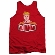 Aquaman Tank Top Sign Red Tanktop