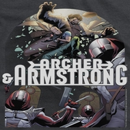 Archer & Armstrong Dropping In Shirts