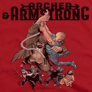 Archer & Armstrong Hang On Shirts