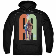 Archer & Armstrong Hoodie Back To Back Black Sweatshirt Hoody