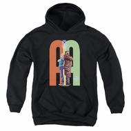 Archer & Armstrong Kids Hoodie Back To Back Black Youth Hoody