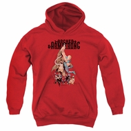 Archer & Armstrong Kids Hoodie Hang On Red Youth Hoody