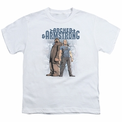 Archer & Armstrong Kids Shirt Stare Down White T-Shirt