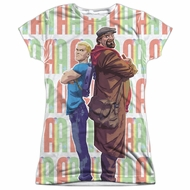 Archer & Armstrong Shirt Back To Back Sublimation Juniors Shirt