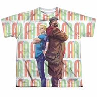 Archer & Armstrong Shirt Back To Back Sublimation Youth Shirt
