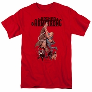 Archer & Armstrong Shirt Hang On Red T-Shirt