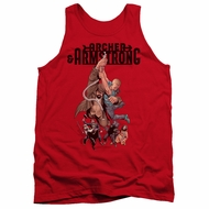 Archer & Armstrong Tank Top Hang On Red Tanktop