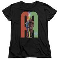 Archer & Armstrong Womens Shirt Back To Back Black T-Shirt
