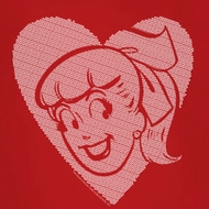 Archie Betty Heart Shirts