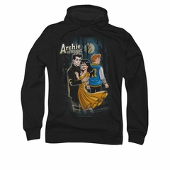 Archie Hoodie Mocking Twilight Black Sweatshirt Hoody