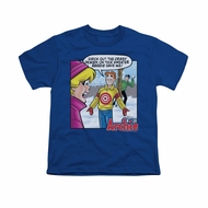 Archie Shirt Kids Target Royal Blue T-Shirt
