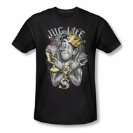Archie Shirt Slim Fit Jug Life Black T-Shirt