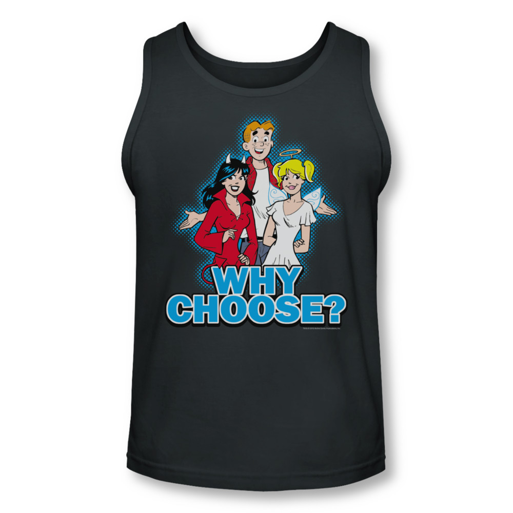 Archie Shirt Tank Top Why Choose Charcoal Tanktop Archie