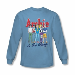 Archie Shirt The Gang Long Sleeve Carolina Blue Tee T-Shirt