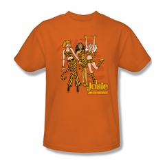 Archie Shirt Tiger Stripes Orange T-Shirt