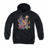 Archie Youth Hoodie Pussy Cats Rock Black Kids Hoody