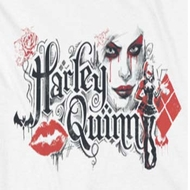 Arkham Knight Harley Lips Shirts