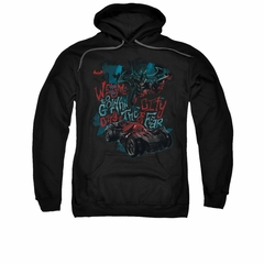 Arkham Knight Hoodie City Of Fear Black Sweatshirt Hoody