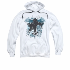 Arkham Knight Hoodie I Know White Sweatshirt Hoody