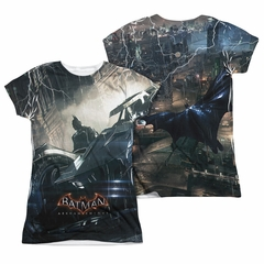 Arkham Knight Shirt Car Sublimation Juniors Shirt