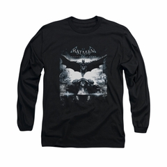 Arkham Knight Shirt Flying Long Sleeve Black Tee T-Shirt