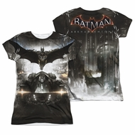 Arkham Knight Shirt Flying Sublimation Juniors Shirt