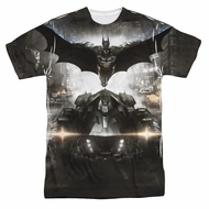 Arkham Knight Shirt Flying Sublimation Shirt
