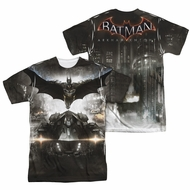 Arkham Knight Shirt Flying Sublimation Shirt Front/Back Print