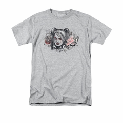 Arkham Knight Shirt Harley RIP Athletic Heather T-Shirt