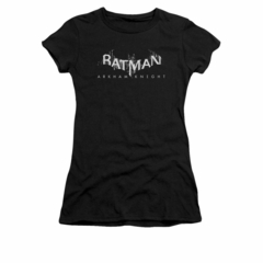 Arkham Knight Shirt Juniors Splintered Logo Black T-Shirt