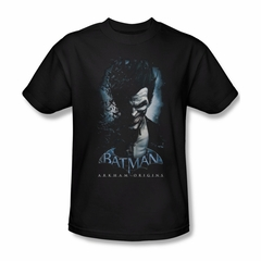 Arkham Origins Shirt Joker Black T-Shirt