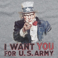 Army I Want You Shirts