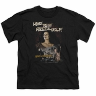 Army Of Darkness Kids Shirt Reeeal Ugly! Black T-Shirt