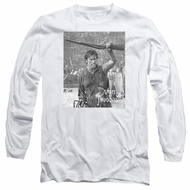 Army Of Darkness Long Sleeve Shirt Boom White Tee T-Shirt