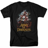 Army Of Darkness Shirt Bloody Poster Black T-Shirt