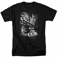 Army Of Darkness Shirt Guy With The Gun Black T-Shirt