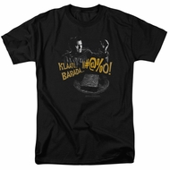 Army Of Darkness Shirt Klaatu...Barada Black T-Shirt