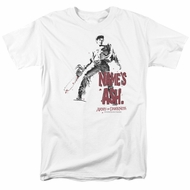 Army Of Darkness Shirt Name's Ash White T-Shirt