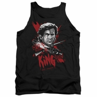Army Of Darkness Tank Top Hail To The King Black Tanktop