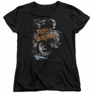 Army Of Darkness Womens Shirt Covered Black T-Shirt